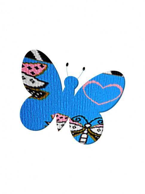 Calcetines silueta de mariposa