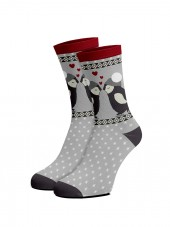 christmas calcetines de pingüinos