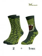 calcetines triplex para niños dragones