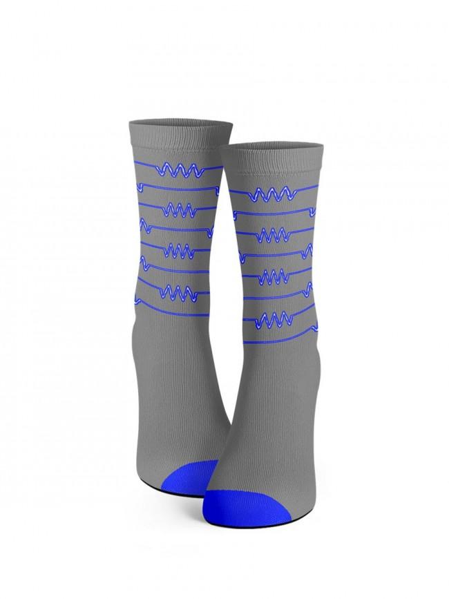 """Calcetines oficiales del programa """"la resistencia"""" modelo gris"""
