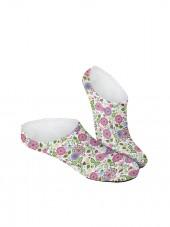 Calcetines Invisibles de flor de alelí