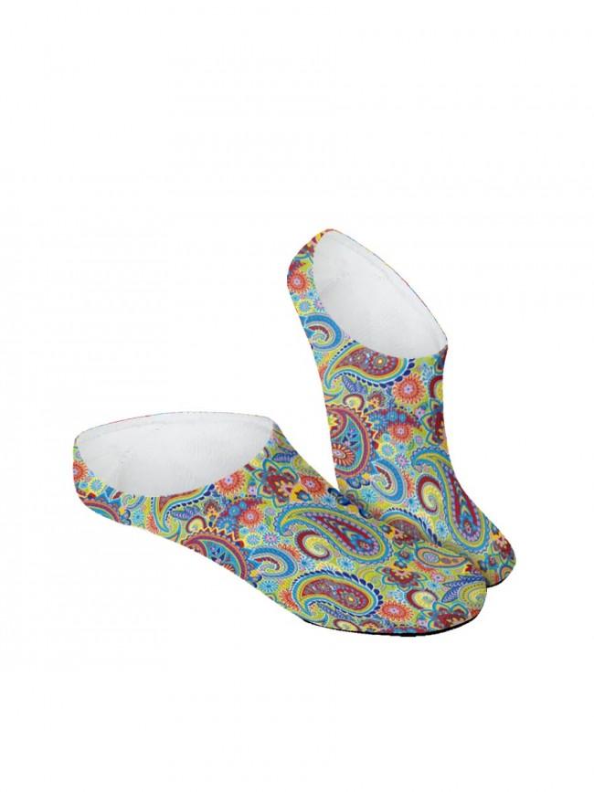 Calcetines Invisibles de cachemir multicolor