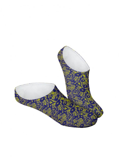 calcetines invisibles abstracto malva