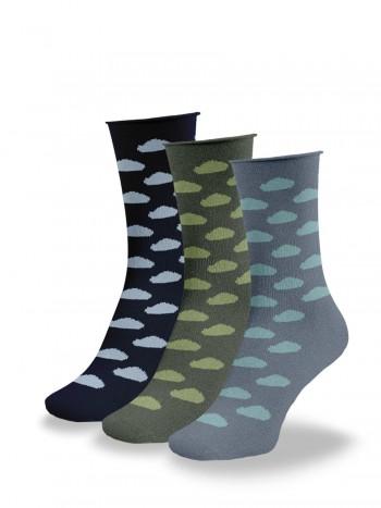 Calcetines de fantasía mujer. pack de 3 pares de calcetines divertidos y originales.