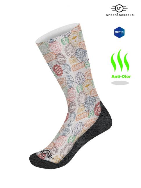 calcetines estampados antiolor